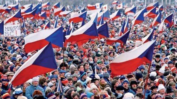 Rivoluzione di velluto Cecoslovacchia